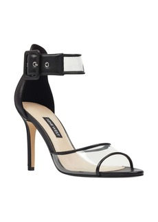 Nine West Mila Clear Strap Sandal (Women)