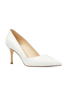 Nine West Mine Leather Mid-Heel Pumps