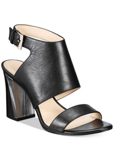 Nine West Moshpit Block-Heel Sandals Women's Shoes