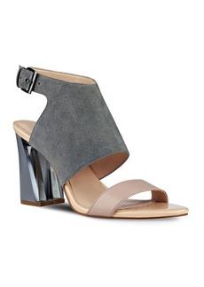 Nine West Moshpit Covered Suede Sandals