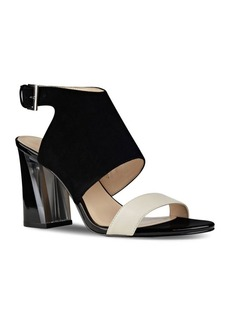 Nine West Moshpit Covered Suede Sandals