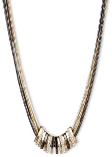 Nine West Multi Strand Necklace with Slider