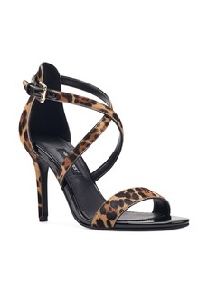 Nine West Mydebut Strappy Genuine Calf Hair Sandal (Women)