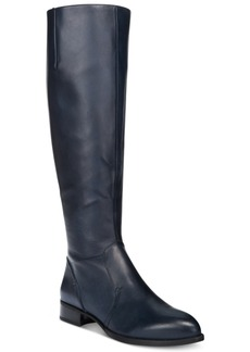 Nine West Nicolah Block-Heel Tall Boots Women's Shoes