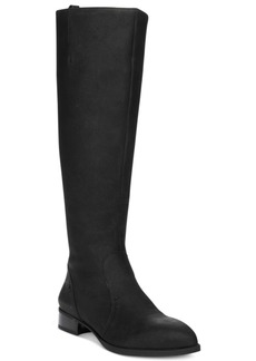Nine West Nicolah Wide Tall Block-Heel Boots Women's Shoes