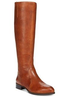 Nine West Nicolah Wide Tall Block-Heel Boots Women's Shoes