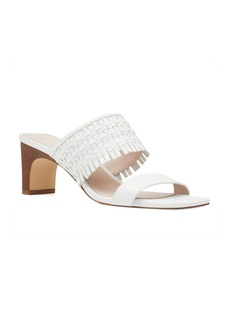 Nine West Nirveli Woven Slide Sandal (Women)