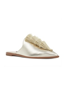 Nine West Ollial Fringed Loafer Mule (Women)