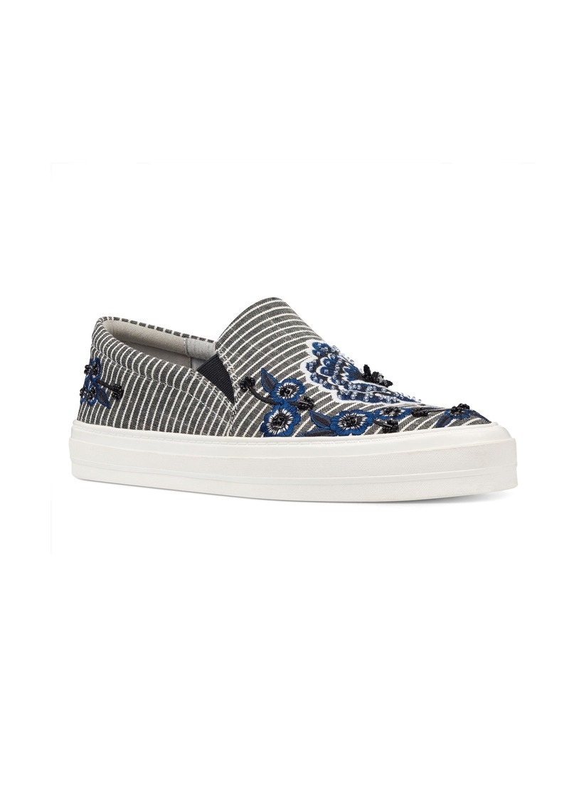 Nine West Onyeka Embroidered Slip-On Sneaker (Women)