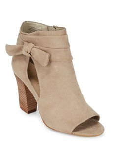 Nine West Open Toe Booties