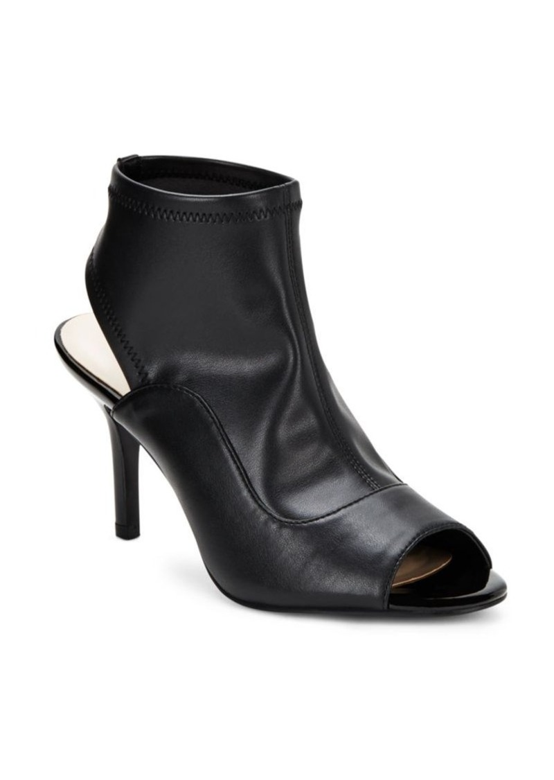 Nine West Open-Toe Cutout Booties