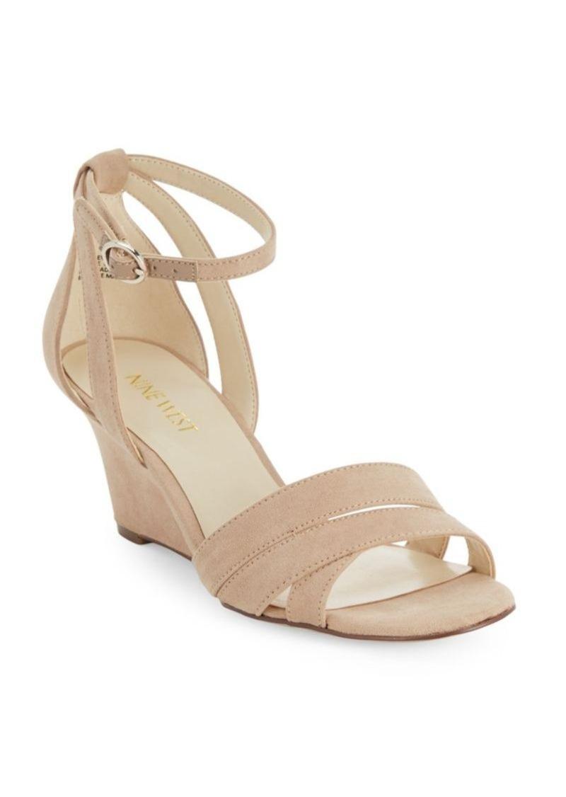 Nine West Open-Toe Wedge Sandals