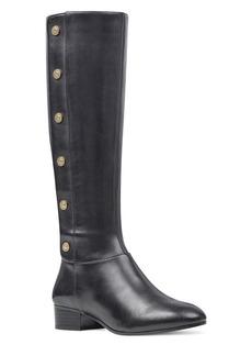 Nine West Oreyan Leather Knee-High Boots