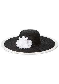 Nine West Packable Floral Sun Hat