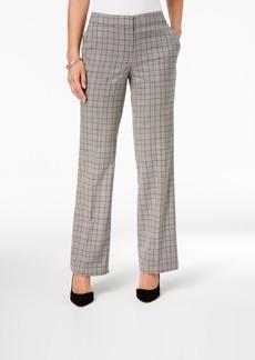 Nine West Plaid Trousers