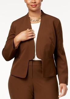 Nine West Plus Size Contoured Blazer