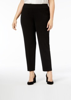 Nine West Plus Size Pull-On Pants