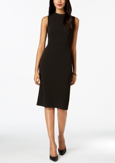 Nine West Ponte Knit Sheath Dress