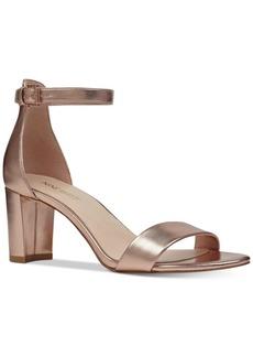 Nine West Pruce Block-Heel Sandals Women's Shoes