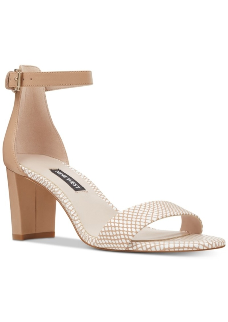 fea96d95f0c Pruce Block-Heel Sandals Women's Shoes