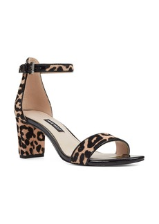 Nine West Pruce Genuine Calf Hair Ankle Strap Sandal (Women)
