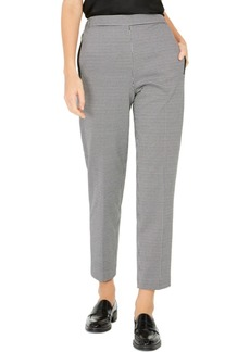 Nine West Pull-On Houndstooth Pants