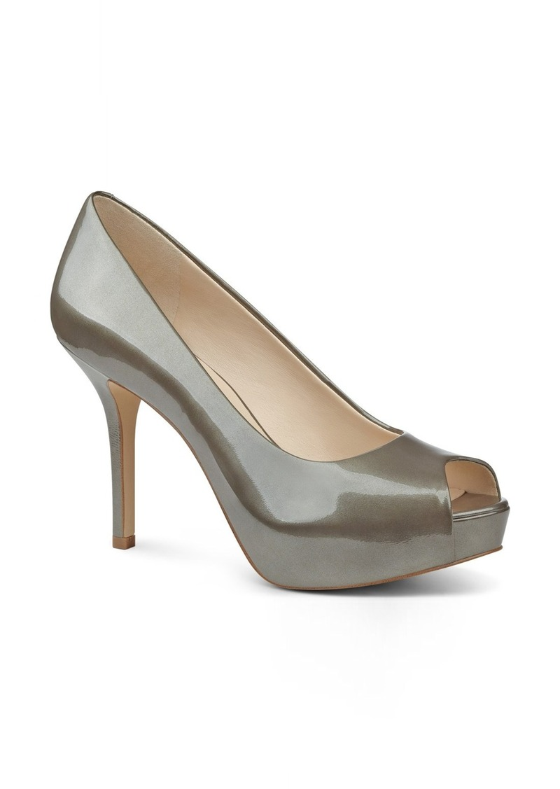 Nine West 'QT Pie' Platform Peep Toe Pump (Women)