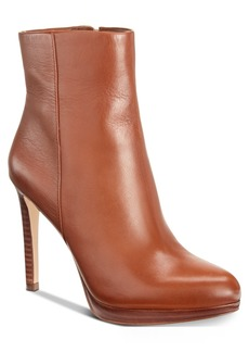 Nine West Quanette Platform Dress Booties Women's Shoes