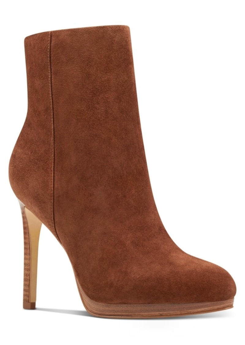 Nine West Querida Platform Booties Women's Shoes