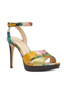 Nine West Quisha Skinny Heel Satin Dress Sandals