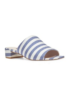 Nine West Raissa Striped Slide Sandals
