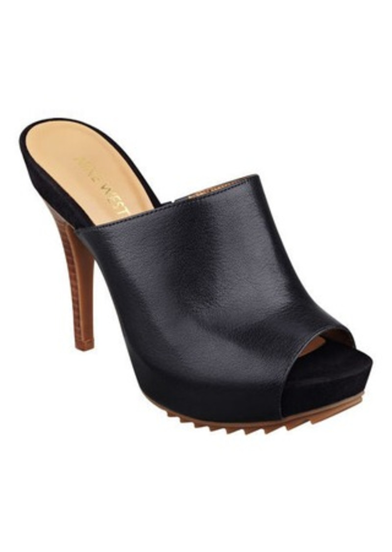 Nine West Peep Toe Wedge Shoes