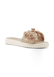 Nine West Relly Flower Slide Sandal (Women)