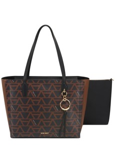 Nine West Ring Leader Logo Tote