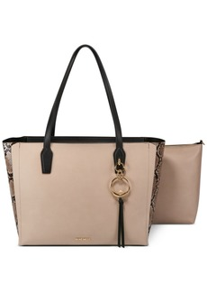 Nine West Ring Leader Colorblock Tote