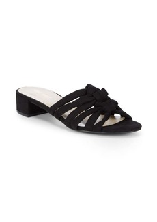 Nine West Roberton Knotted Block-Heel Slides