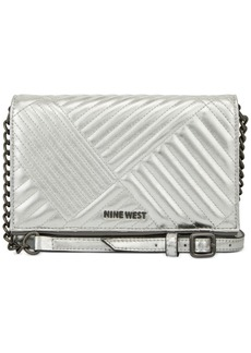 Nine West Rowan Quilted Wallet On A String