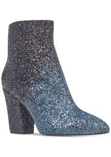 Nine West Savitra Block Heel Booties Women's Shoes