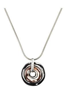 Nine West Silver-Tone Pendant Necklace