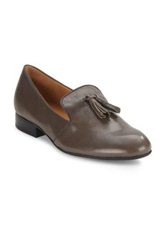 Nine West Sip-On Leather Loafers