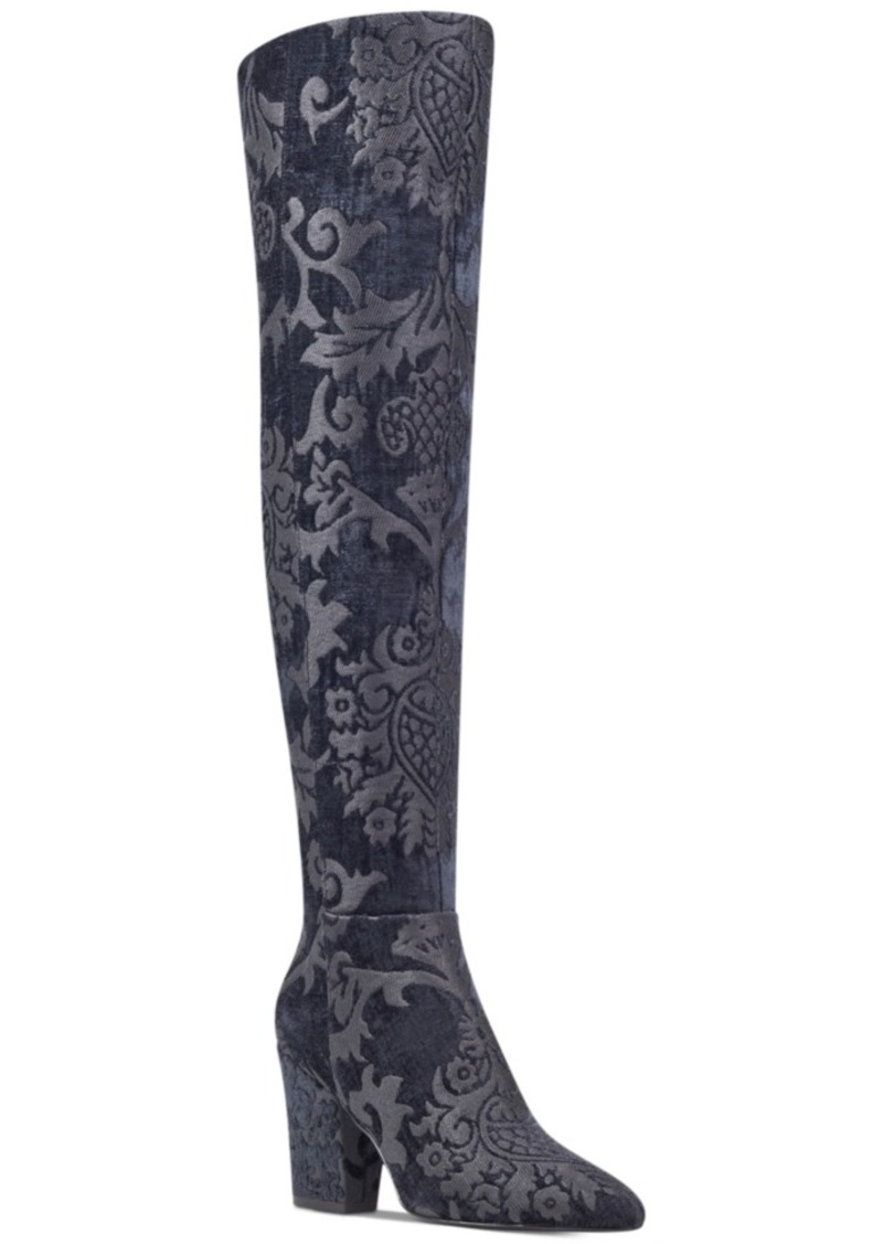 f8188003fdb Nine West Nine West Siventa Brocade Over-The-Knee Boots Women s ...