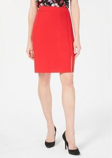 Nine West Slit Stretch Skirt