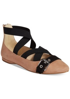 Nine West Smoak Buckle Pointed Flats Women's Shoes