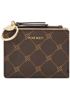Nine West Status Logo Zip Wallet