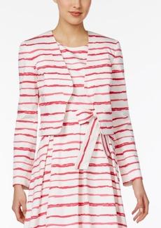 Nine West Striped Blazer