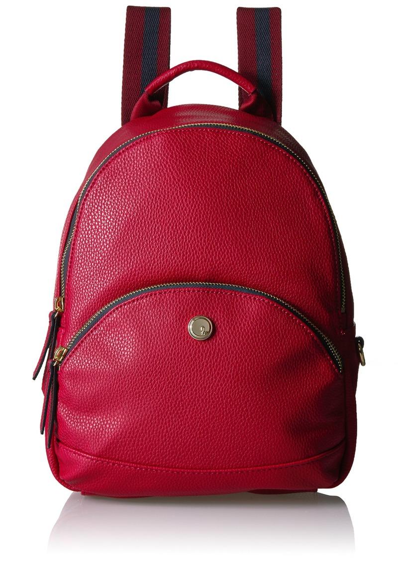 Nine West Taren Medium Backpack Ruby red/DTM True Navy-Oxblood