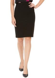 Nine West Textured Pencil Skirt