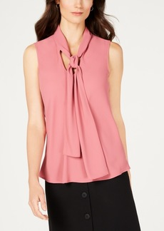 Nine West Tie-Neck Blouse