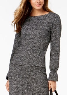 Nine West Tweed Blouse