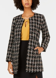 Nine West Tweed Topper Jacket
